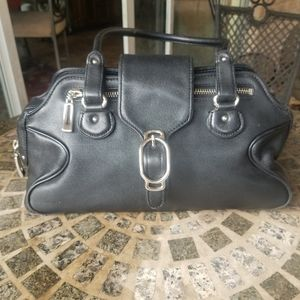 Excel Condition Cole Haan Black Leather Double Han